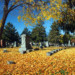 Evergreen Cemetery in the Fall thumbnail