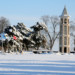 The Bellman Carillon Tower in the Winter thumbnail