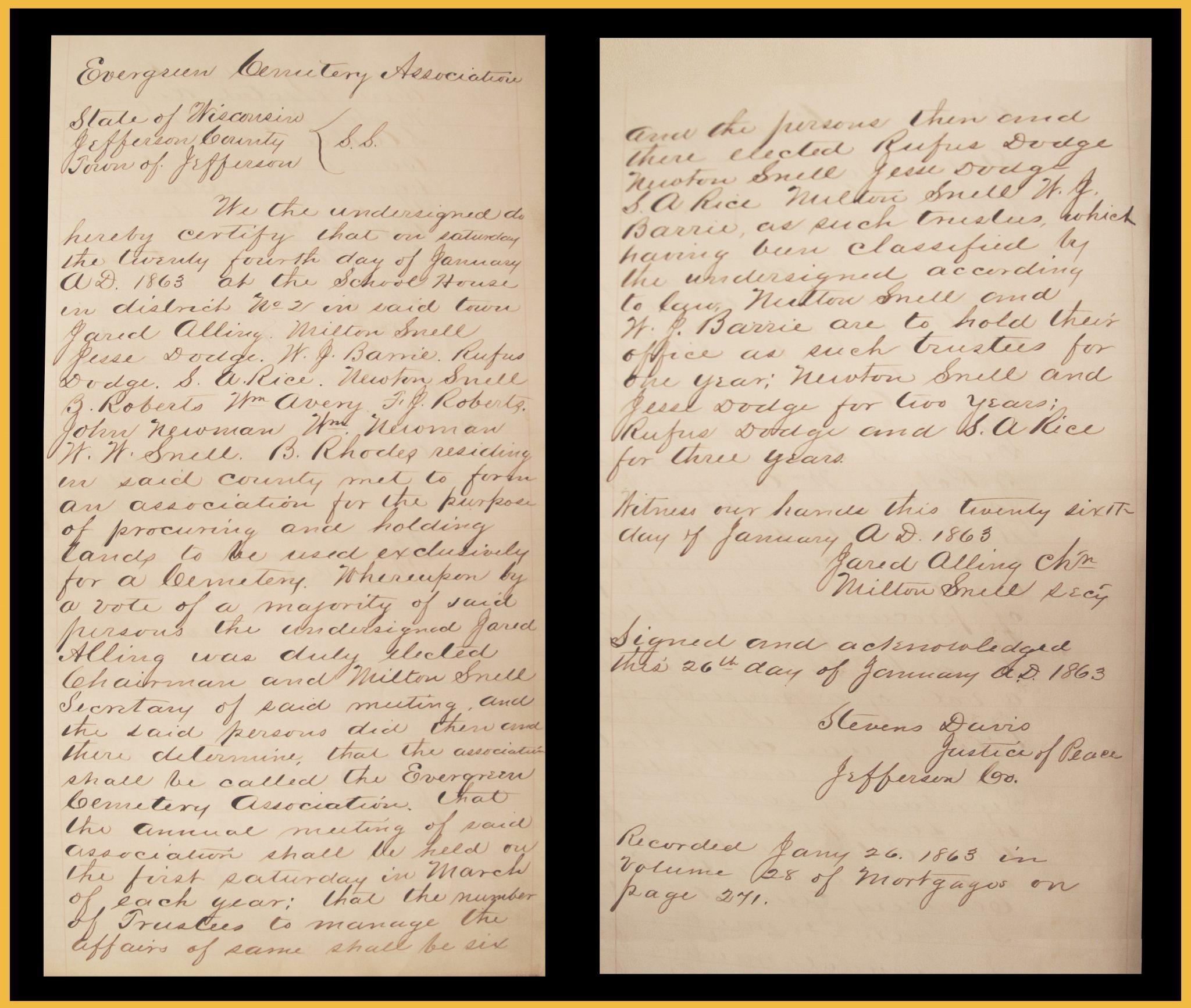 Founding Document