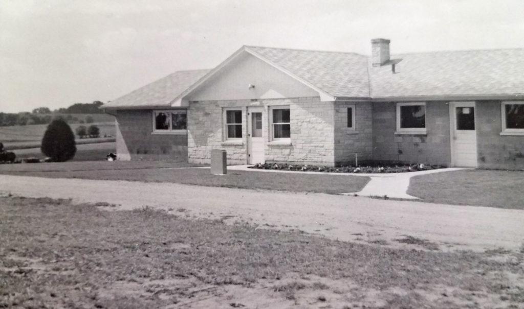 Worcester Memorial Building circa 1958
